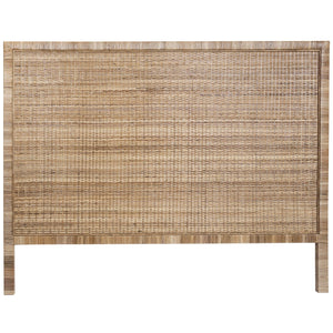 PALM SPRINGS RATTAN BEDHEAD IN QUEEN