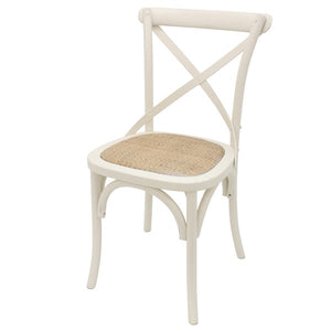 HAMILTON DINING CHAIR IN CREAM