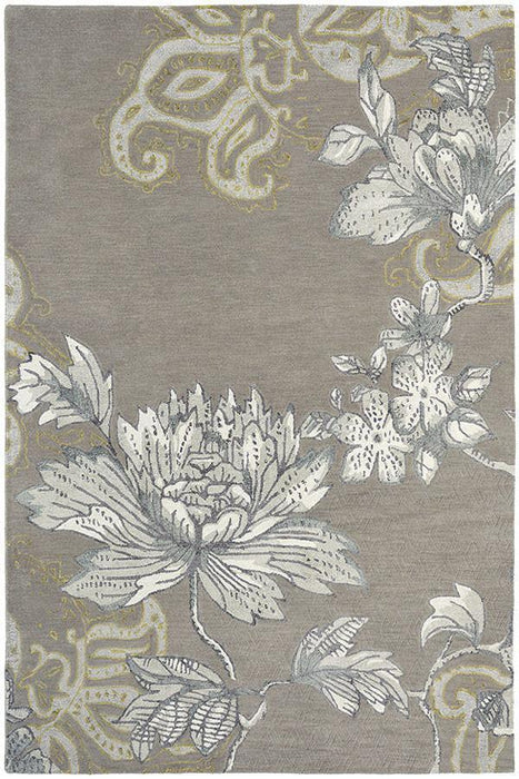 Wedgwood Fabled Floral Grey 37504 Rug