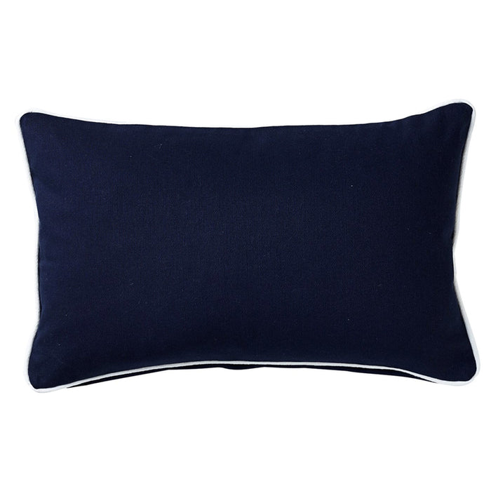 Basic Navy Cushion 30cm x 50cm