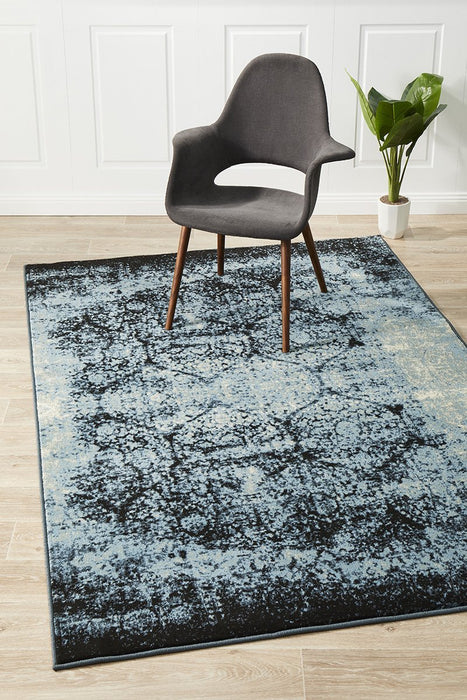 Calypso Collection 6105 navy Rug