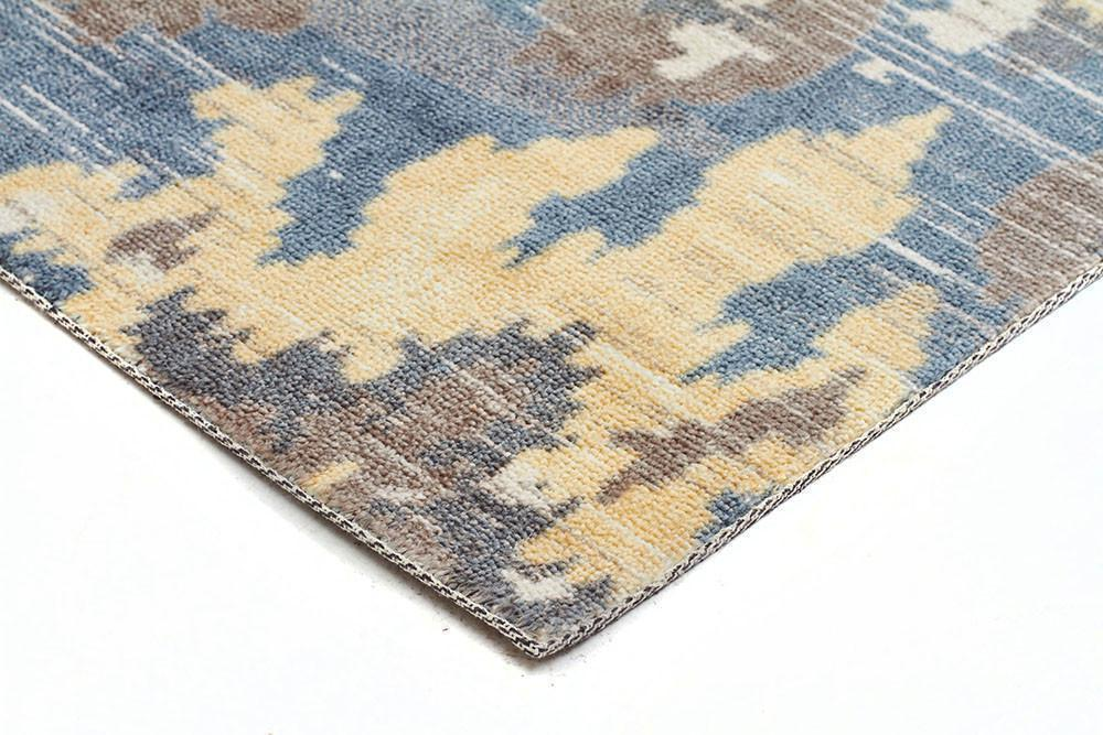 City Behold Modern Yellow Rug