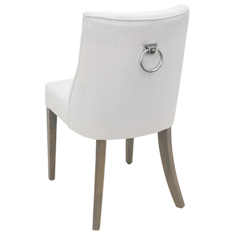 AIRLIE DINING CHAIR IN WHITE