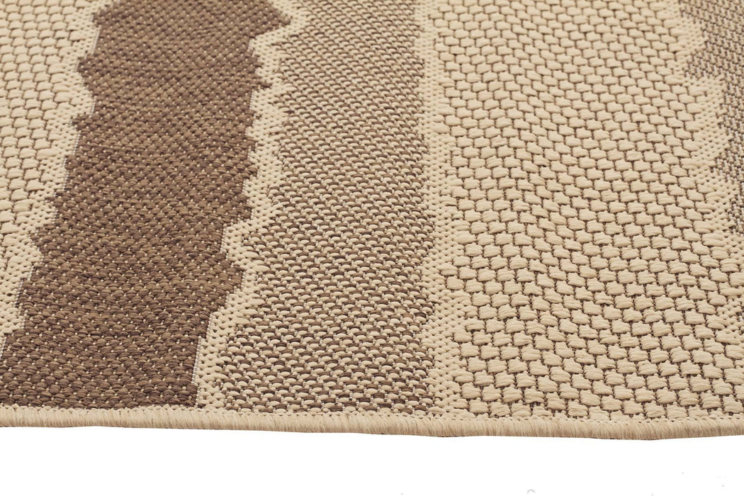 Pavilion Indoor Outdoor 123 Brown Rug