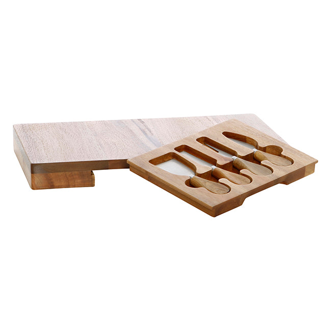 Stafford Cheese Board with Knifes