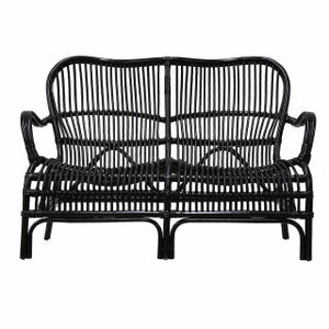 GAIL RATTAN 2 SEATER BLACK