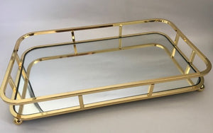 CHARLIE GOLD TRAY SMALL