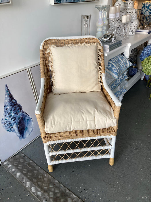 Natural and White Noosa Chair