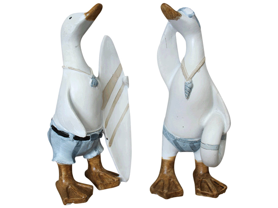 Surfing Ducks Set of 2