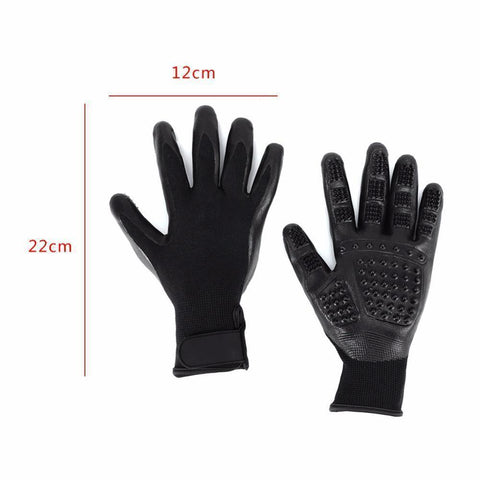 Pet Shedding Grooming Glove (One Pair)