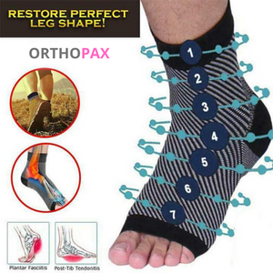 ORTHOPAXX™ Copper Infused Magnetic Foot Support Compression