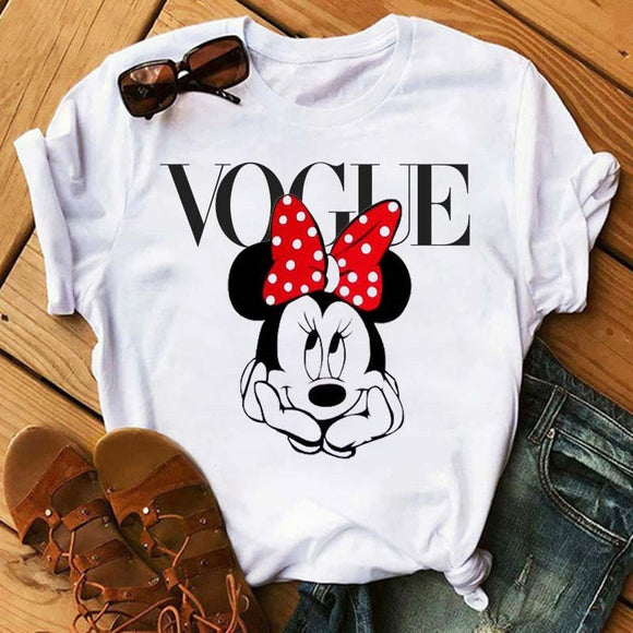 Tshirt Minnie Vogue