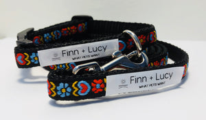 Flower to the People - Matched Set - Finn & Lucy Premium Pet Gear