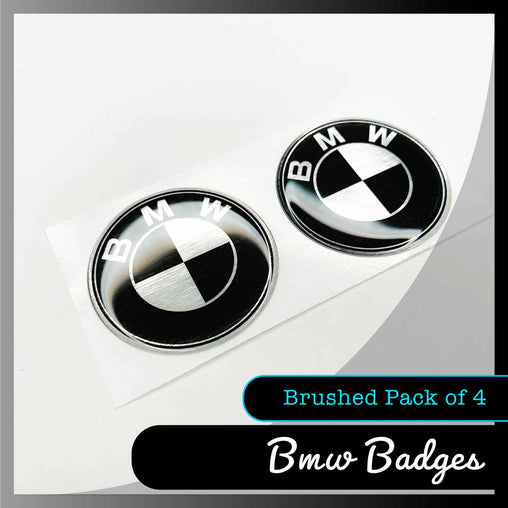 bmw domed stickers display