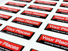 Your places resin labels