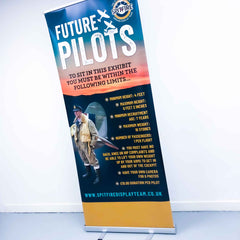 Pull Up Roller Banner - Pop up stand