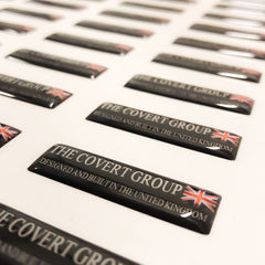 the covert group domed stickers