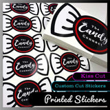 Custom Kiss Cut Stickers - 1.3M x 700mm Sheets