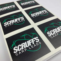 Laminated Custom Square Stickers - Many sizes and finishes to choose from. - Smash signs ltd