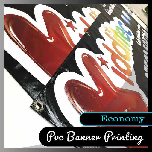 440gsm Economy PVC Banner - Smash signs ltd