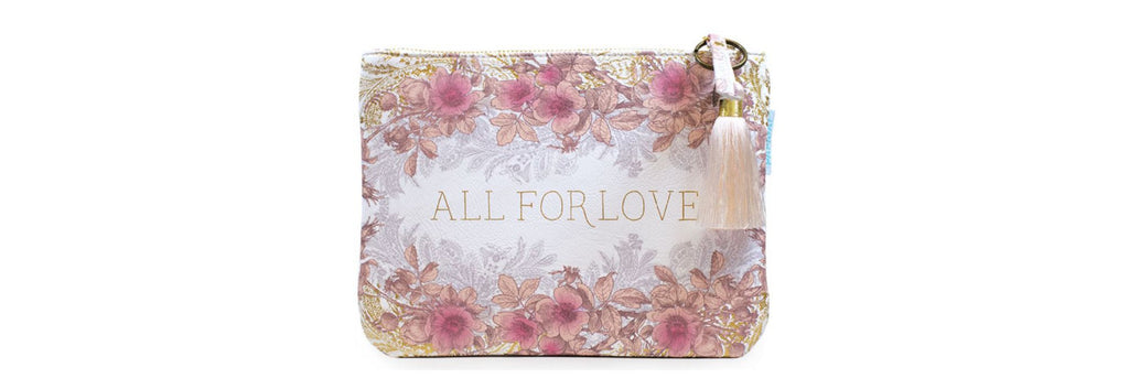 All for Love Large Tassel Pouch by Papaya