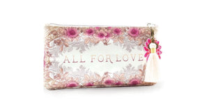 All for Love Small Tassel Pouch by Papaya