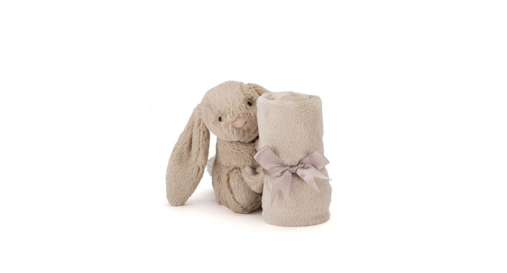 Bashful Beige Bunny Soother by Jellycat