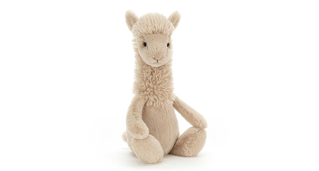 Bashful Llama Plush by Jellycat