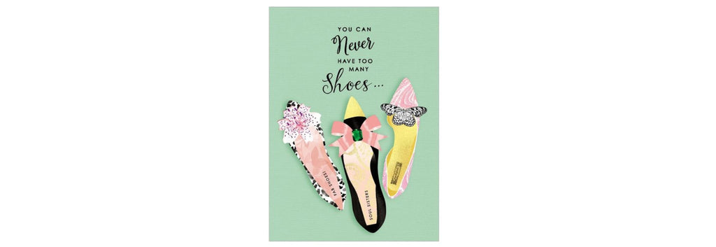 Shoes and Friends Thinking of You Greeting Card