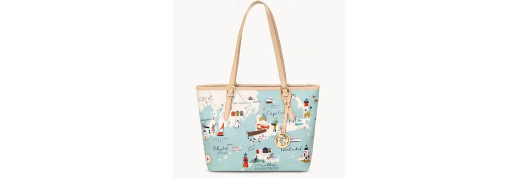 Bag Tote Small Northeaster Harbors by Spartina