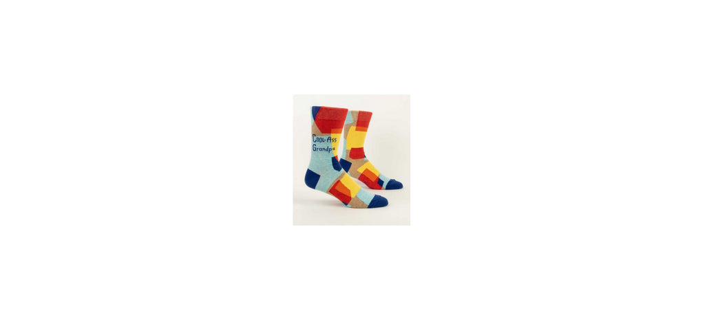 Crew Socks Cool Grandpa by Blue Q