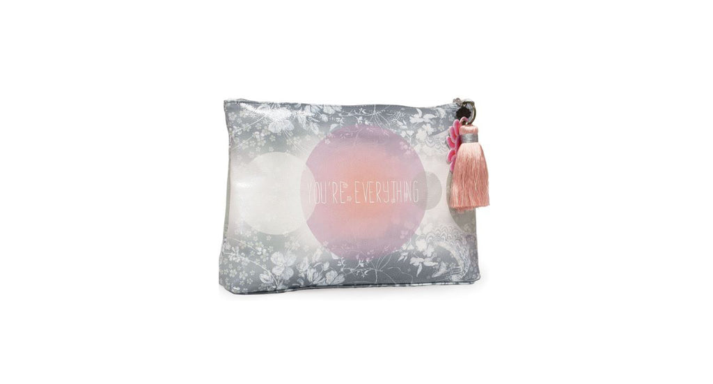 You're Everything Large Tassel Pouch by Papaya
