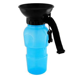 Auto Dog Water Bottle with Bowl