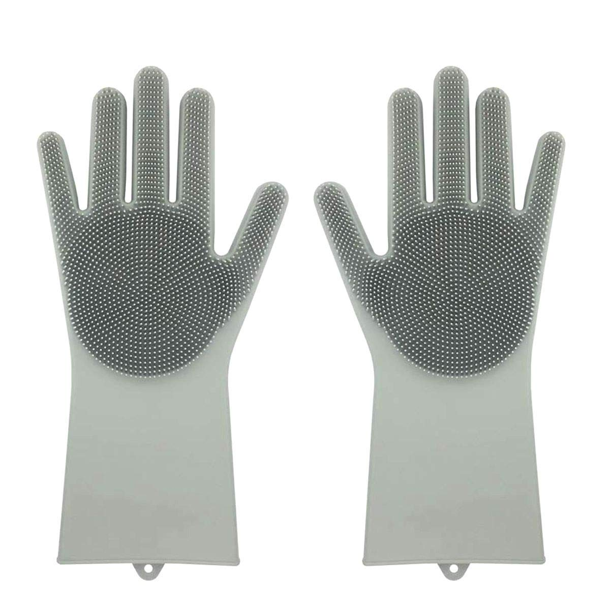 Multi-Purpose Silicone Scrubber Gloves (Worldwide Shipping)
