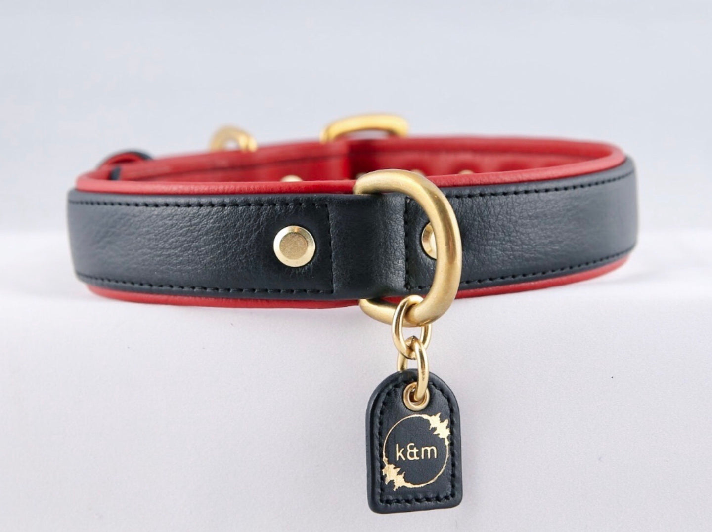 Genuine Leather Dog Collar: The Dooley Collar