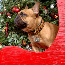 Load image into Gallery viewer, Genuine Leather Dog Collar: The Diana Collar