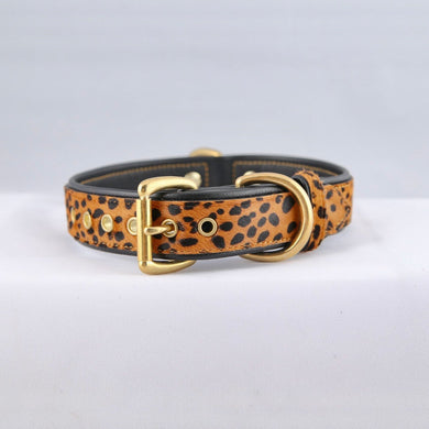 Genuine Leather Dog Collar: The Diana Collar