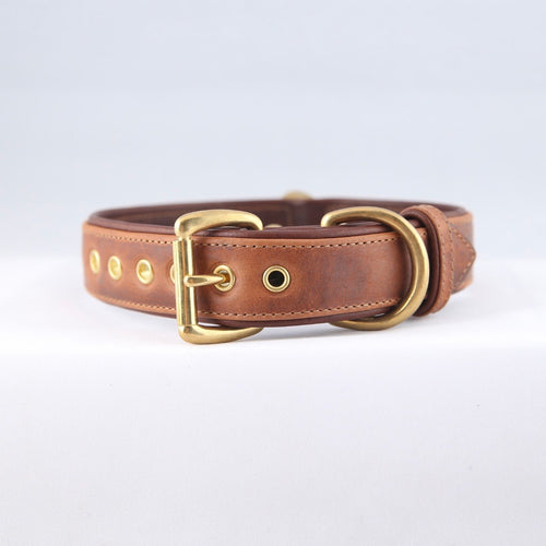 Genuine Leather Dog Collars: The Barneys Collar