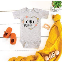 Girl Power Baby Bodysuit - Baby Apparel
