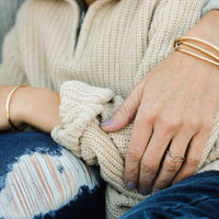Immeasurable Gold Mama & Me Set - Baby Bangles