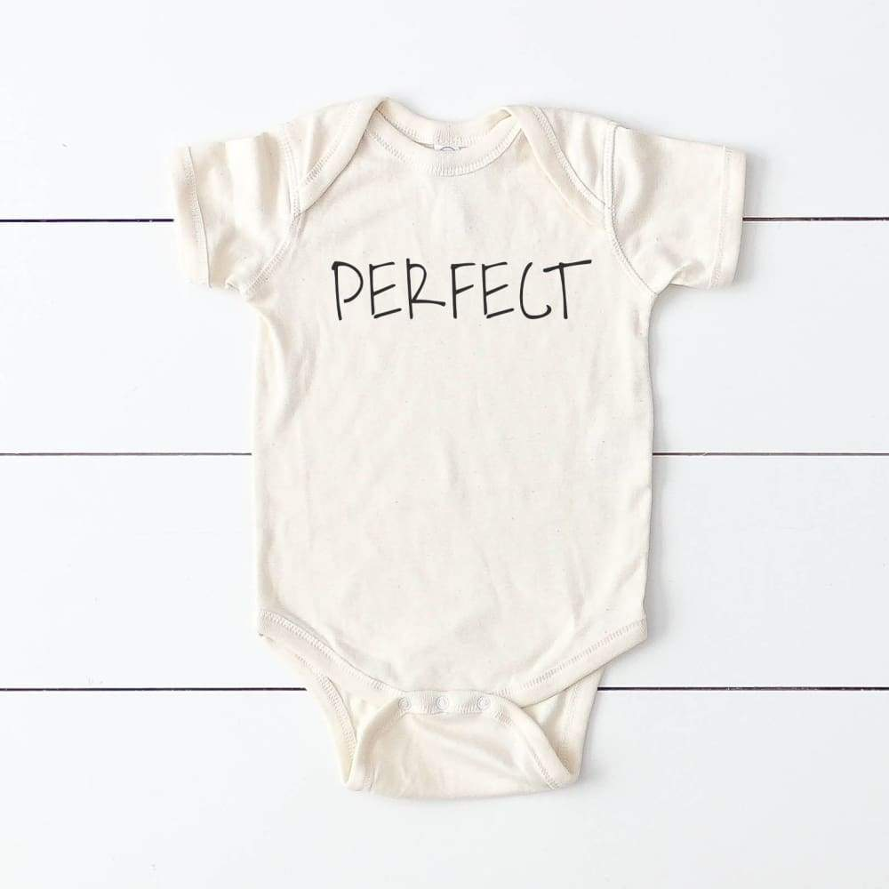 """Perfect"" Baby Bodysuit"