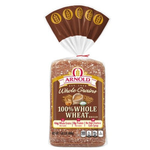 ARNOLD 100% WHOLE WHEAT BREAD