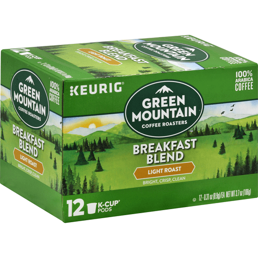 GREEN MT BRKFST K-CUP