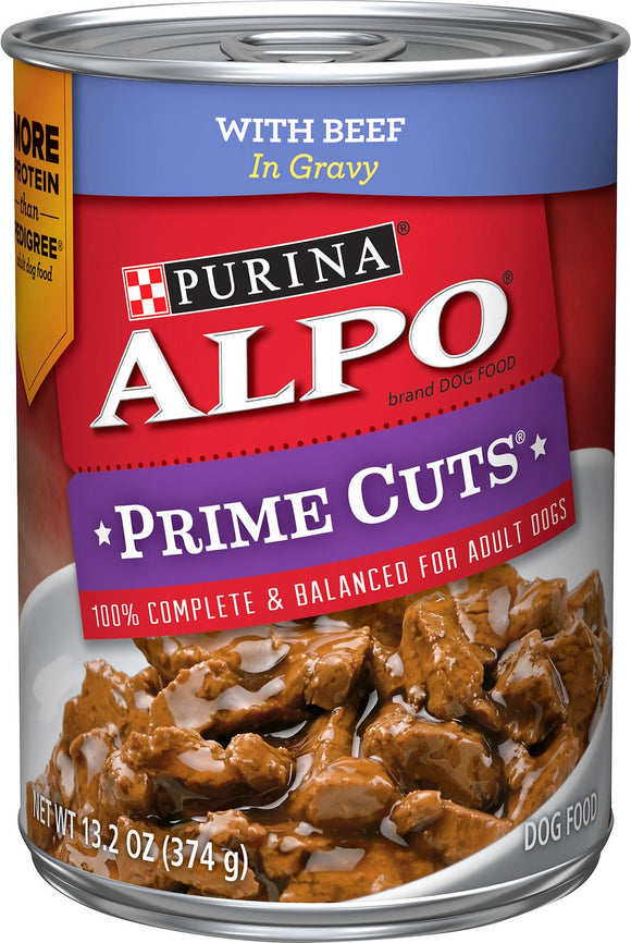 ALPO Prime Cuts With Beef in Gravy