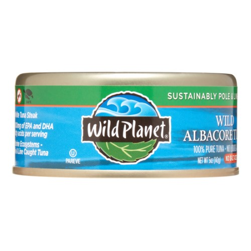 Wild Planet Wild Albacore Tuna No Salt