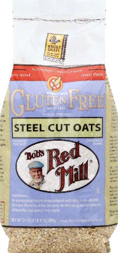 Bobs Red Mill Gluten Free Steel Cuts Oats