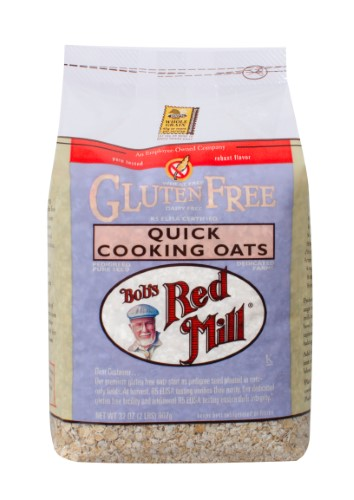 Bob's Red Mill Gluten Free Quick Cooking Oats, 32 Oz