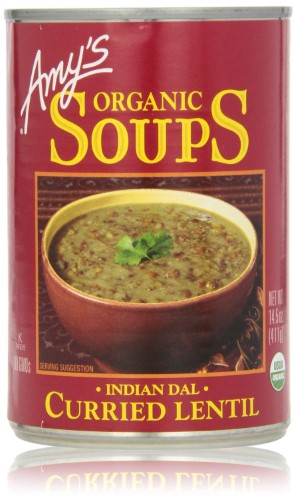 AMY'S ORGANIC SOUPS CURRIED LENTIL