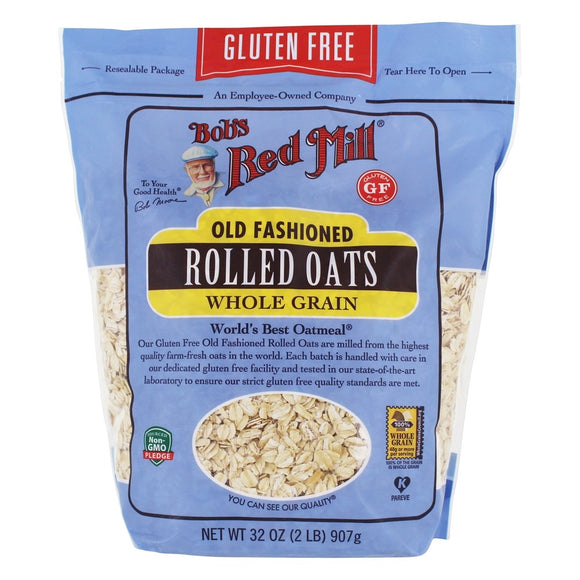 Bob's Red Mill Organic Rolled Oats - Extra Thick 32 Oz