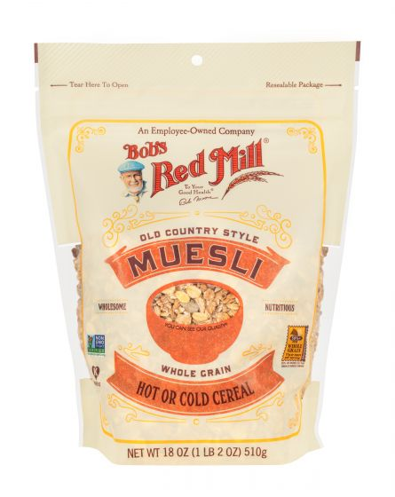 Bob's Red Mill Gluten Free Muesli 16 oz country